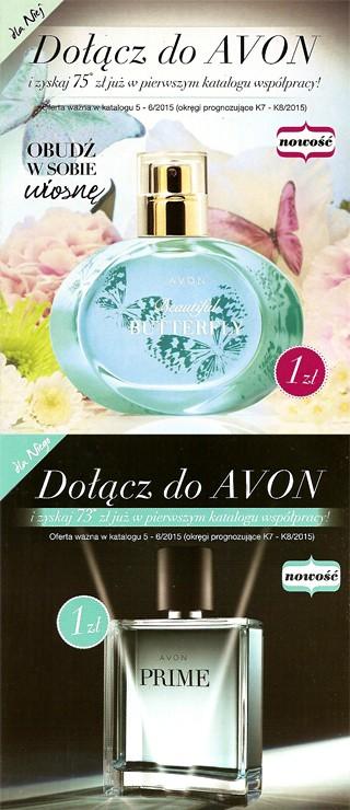 Aktualny program dla nowych konsultantek Avon
